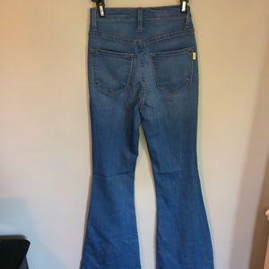 Denim - Flare stretchy jeans